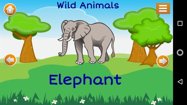 Learn Animals for Kids screenshot 1