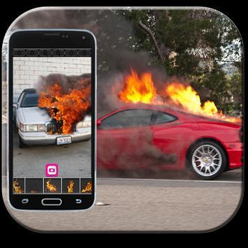 Dude your car - fire prank apk screenshot