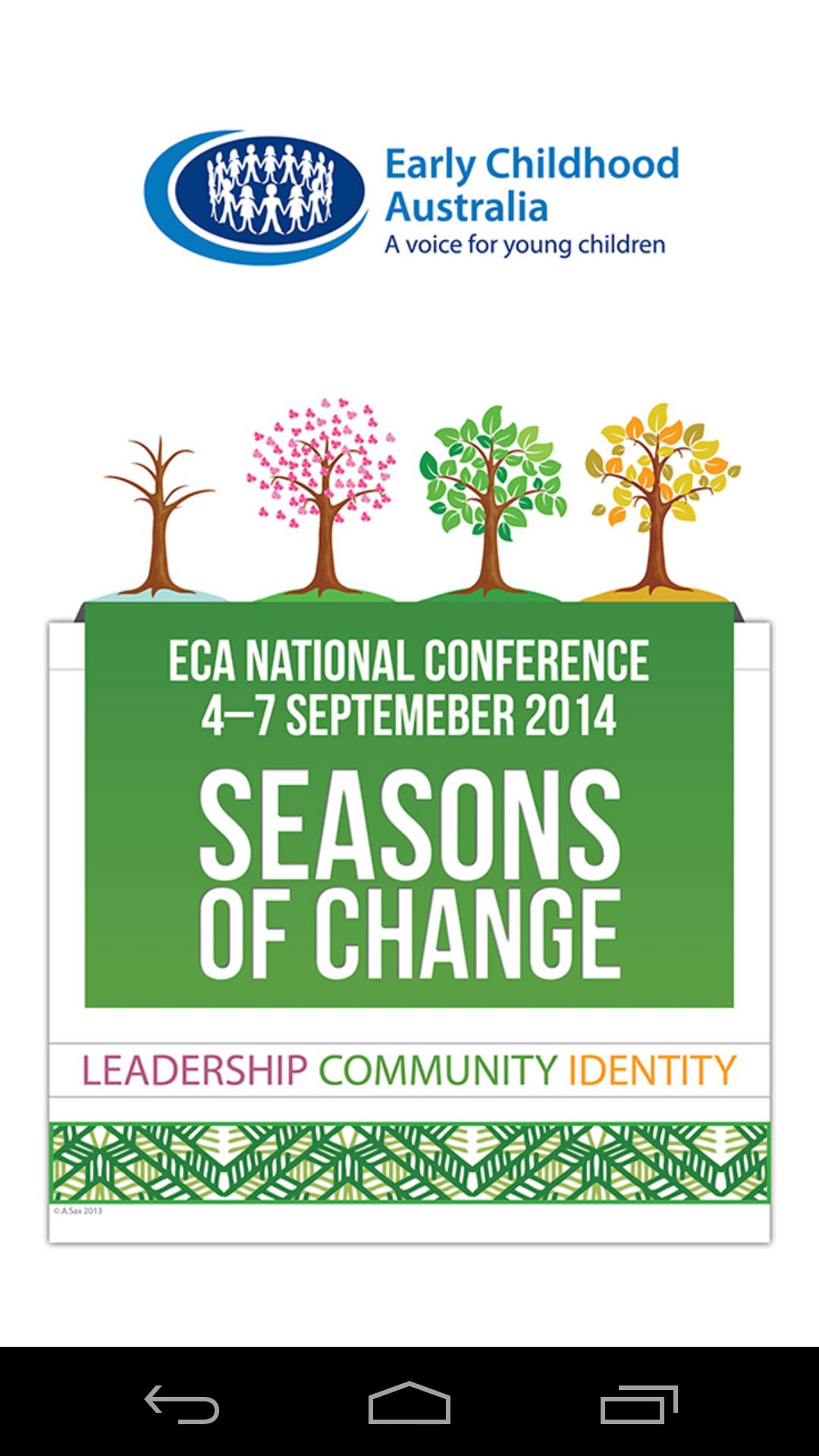 ECA Conference 2014 poster