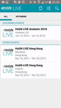 HxGN LIVE 2016 apk screenshot