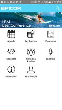 Epicor LBM Conference 2016 poster