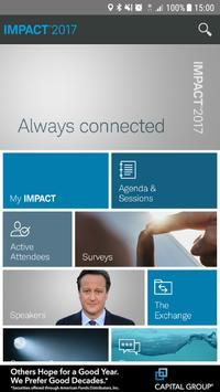 Schwab IMPACT 2017 poster