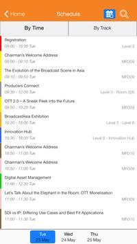 BroadcastAsia2017 apk screenshot