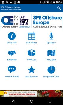 SPE Offshore Europe 2015 poster
