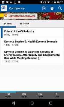 SPE Offshore Europe 2015 apk screenshot