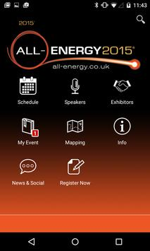 All-Energy 2015 poster