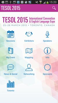 2015 TESOL Convention poster