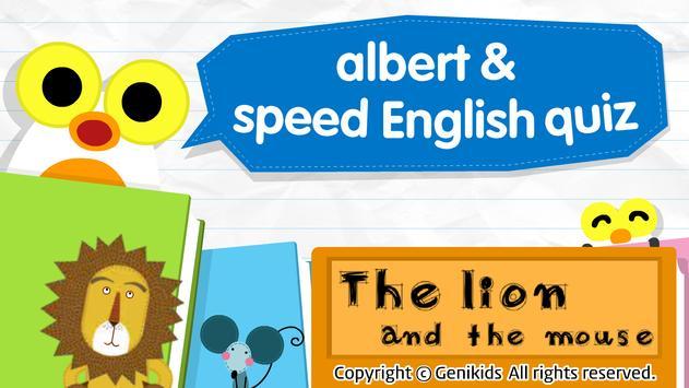 albert speed quiz 1 poster