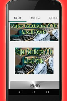 Bajar Canciones A Mi Celular Guia Facil y Gratis apk screenshot