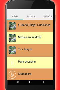 Bajar Canciones A Mi Celular Guia Facil y Gratis poster