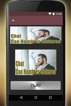 Chat Con Hombres Solteros screenshot 1