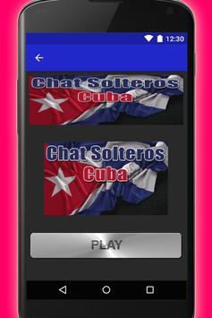 Chat Solteros Cuba captura de pantalla 1
