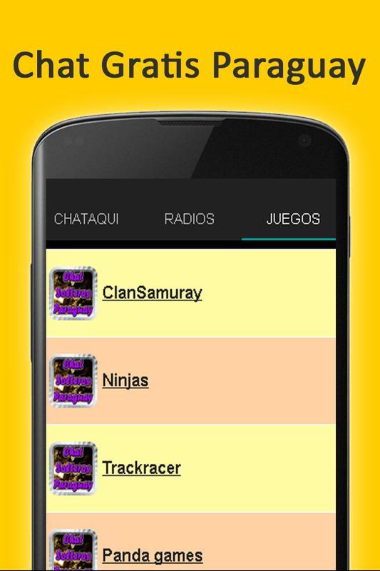 c709a8289cd22 ... Chat Solteros Paraguay Encontrar Pareja captura de pantalla 3 ...