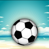 Beach Juggler 3D Super KickUps icon