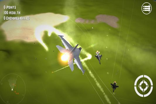 3D Plane Hero F16 2015 screenshot 1