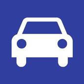 Korean driving license terms icon