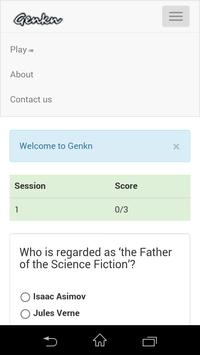 General Knowledge - Genkn apk screenshot