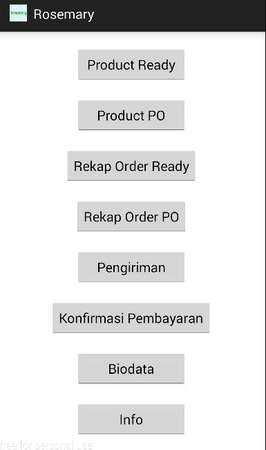Rosemary Onlineshop for Android - APK Download