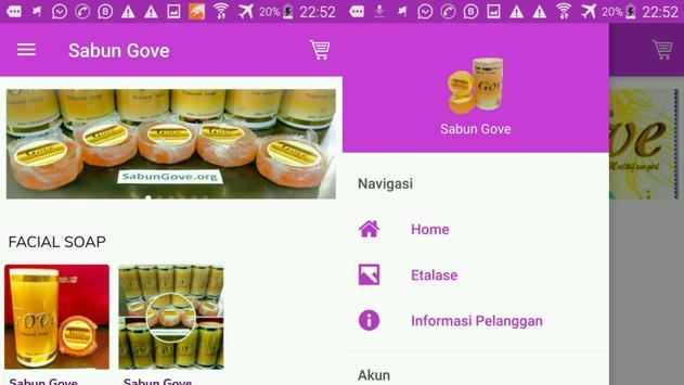 Sabun Gove captura de pantalla 14