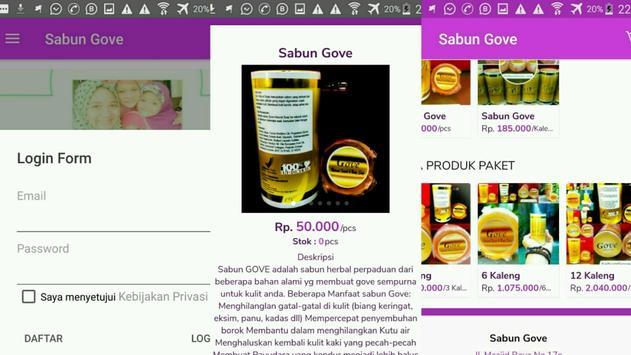 Sabun Gove captura de pantalla 15