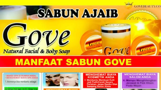 Sabun Gove captura de pantalla 1