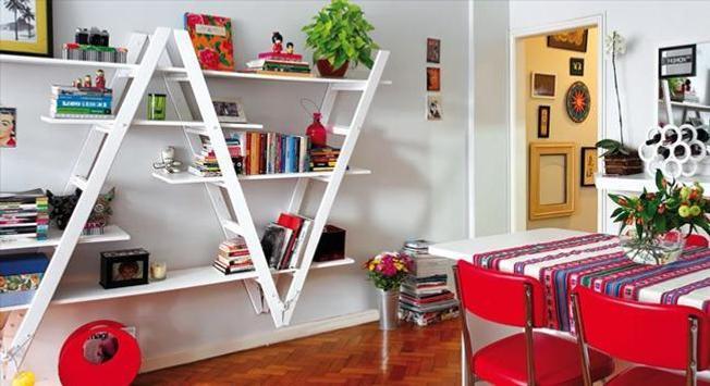 DIY Bookshelves Ideas poster
