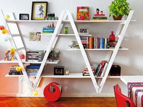 DIY Bookshelves Ideas screenshot 1