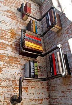 DIY Bookshelves Ideas screenshot 4