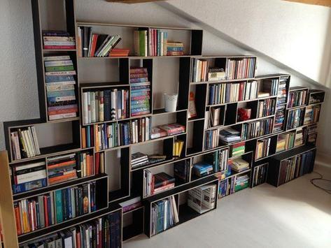 DIY Bookshelves Ideas screenshot 5