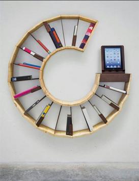 DIY Bookshelves Ideas screenshot 6