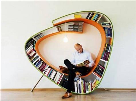 DIY Bookshelves Ideas screenshot 7