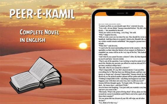 Peer E Kamil Novel (English Version) 2019 capture d'écran 1