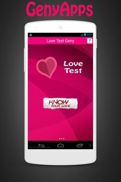Love Test Prank Geny screenshot 1