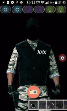 Police Suit Photo Maker Free poster