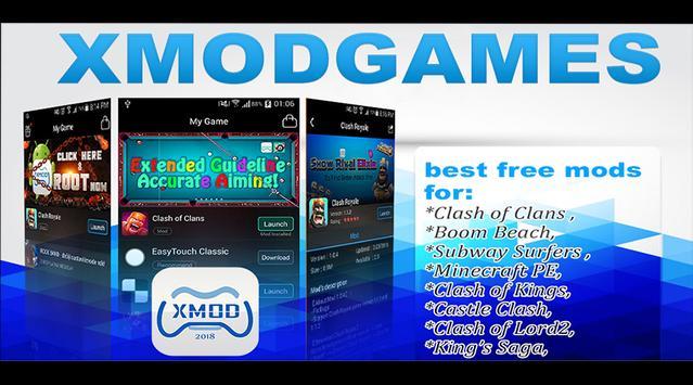 Cheat X-mod COC Games Free apk screenshot