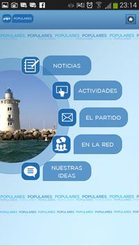 Populares Cádiz poster