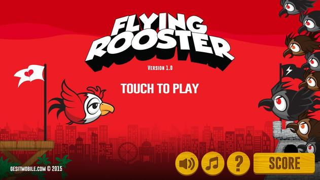 Flying Rooster poster