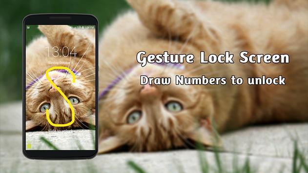 New Gesture Lock Screen 2017 screenshot 9