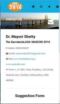 AOA MASCON 2016 apk screenshot