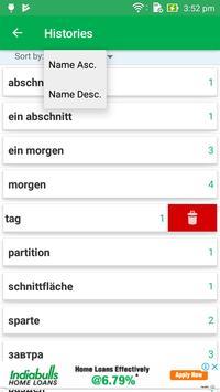 Russian German Dictionary screenshot 7