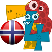 norwegian counting number icon