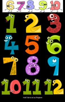 norwegian counting number poster