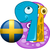 swedish counting number game icon