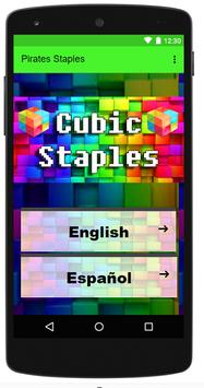 Cubic Staples poster