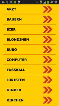 German Jokes Messages poster
