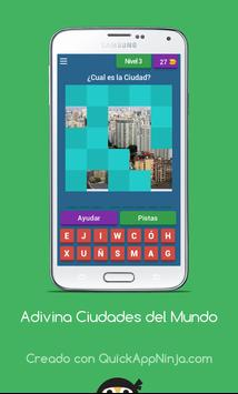 Juego de Adivinar Ciudades screenshot 7