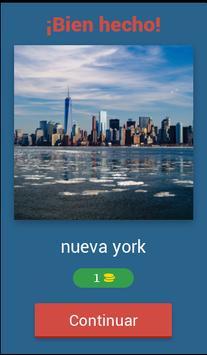 Juego de Adivinar Ciudades poster