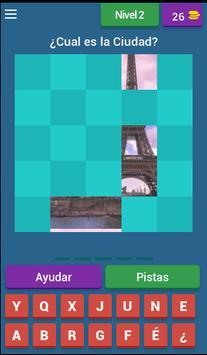 Juego de Adivinar Ciudades screenshot 1