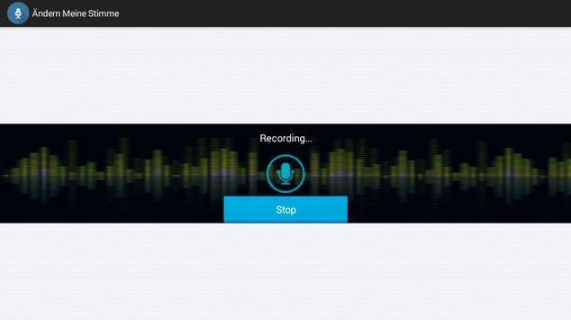 My Voice Changer screenshot 1