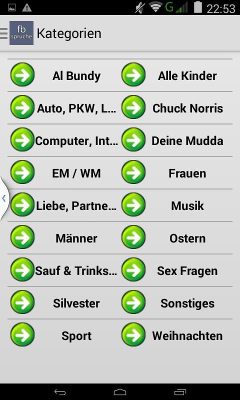 Fbsprüche Facebook Sprüche For Android Apk Download